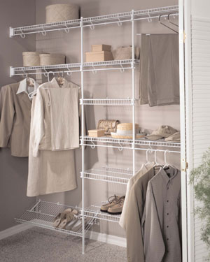 Closet Design And Shelving